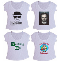 Blusa Flame Camiseta Breaking Bad Los Pollos Hermanos