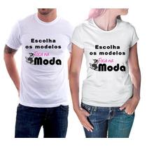 Camiseta Masculina E Feminina Baby Look Modelos Foca Na Moda