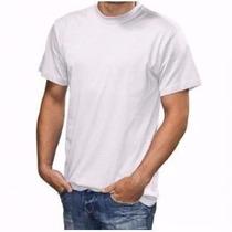 Kit Com 10 Camisetas Lisas 100% Algodão 30.1 Fio Penteado