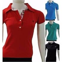 Camisa Polo Feminina Dudalina 2015 Promoção