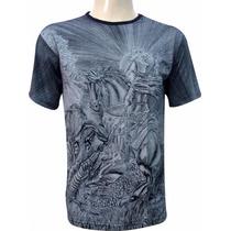 Camiseta São Jorge (002 - Preta)
