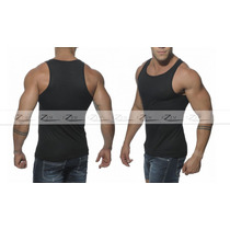 Camisas Blusas Camiseta Masculina Tank Cavada Regata Gola V