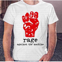 Camiseta Manga Curta Menino Rage Against The Machine