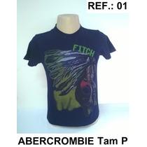 Camiseta Abercrombie & Fitch 100% Original Ref.: 01
