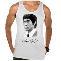 Camiseta Regata Adulto Bruce Lee Kung Fu Artes Marciais 02
