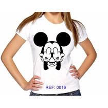 T-shirts Feminina Mickey Atacado Camisetas Personalizadas