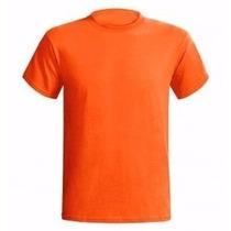 Camiseta Cores 100% Algodão - Fio 30.1 Tamanho Especial Xgg