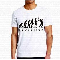 Camiseta Personalizada Masculina Evolução Do Tênis Evolution
