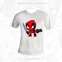 Camisa Deadpool - Filme - Marvel - Camiseta Oficial Promoção