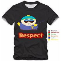 Camisa Infantil South Park 100% Algodão De 2 A 12 Anos