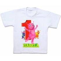 Roupas Blusa Camiseta Personalizada Backyardigans Uniqua