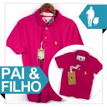 Moda Pai & Filho Camisa Polo Sheepfyeld Qualid.de Importada
