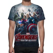 Camisa, Camiseta Os Vingadores A Era De Ultron Mod 05