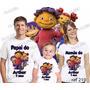 Lembrança De Aniversario Sid O Cientista Camiseta Kit Com 3