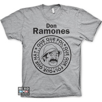 Camisetas Seu Madruga Don Ramon Chaves Kiko