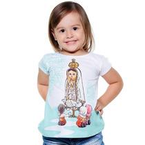 Blusa Infantil Nossa Senhora De Fátima - Ágape