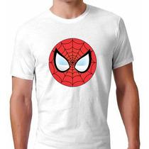 Camiseta Homem Aranha Poliéster