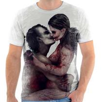 Camisa, Camiseta Coringa Joker E Alerquina, Batman