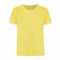 Camiseta Básica/lisa - Amarelo - Fio 30/1 - (100% Algodão)