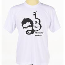 Camisa Camiseta Cantor Banda Rock Legião Urbana Renato Russo