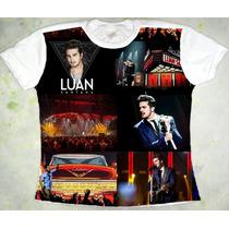 Camiseta Luan Santana Acústico Baby Look