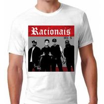 Camisa Personalizadas Hiphop Racionais Mcs Gospel Rap Plt