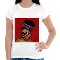 Blusinha Afro Black Personalizada Sublimacao
