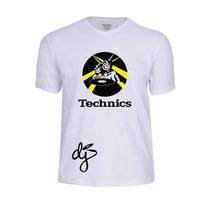 Camisas Camiseta Technics Pro Dj Serato Pioneer Traktor Rane