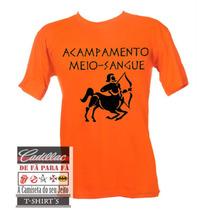 Camiseta Acampamento Meio Sangue - Tradicional Infantil
