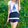 T-shirt Blusa Customizada Viscose - Choies