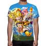 Camisa, Camiseta Anime Dragon Ball Z Mod 04 - Estampa Total