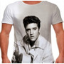 Camiseta Camisa Elvis Presley Rei Rock Personalizada
