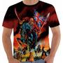 Camisa Camiseta Regata Baby Look Iron Maiden Tour Color