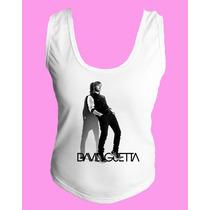 Camiseta Regata Nadador David Guetta Dj Eletronico Trance 2