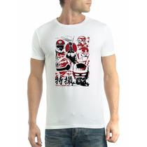 Camiseta Lendas Japão Jaspion Jiraya Camisa Hering Qualidade