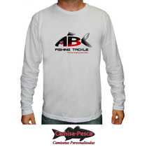 Camisa Manga Longa Pesca Dry Fit Proteção Uv
