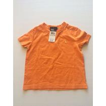 Camiseta Básica Polo Ralph Lauren Infantil Tamanho 2t Nova
