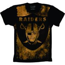 Camiseta Raiders Camisa Raiders Uniforme Futebol Americano