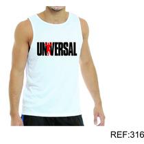 Regata Masculina Academia Crossfit Musculação -universal