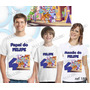 Camiseta Escola Pra Cachorro Aniversario Personalizada 3 Un