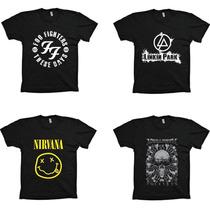 Camisetas Revenda Atacado Rock Hip Hop - Frete Grátis!!