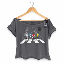 T-shirt Premium Feminina 89fm The Beatles Never Ends