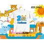 Camiseta Arca De Noé Infantil Personalizada Com Nome E Idade