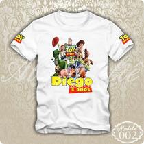 Camisa Camiseta Blusa Personalizada Toy Story Buzz Lightyear