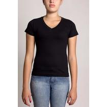 Kit 10 Camisas Baby Look V Varias Cores Atacado Loja De 10