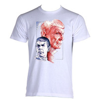 Camiseta Star Trek Jornada Nas Estrelas Spock C Do P A Gg