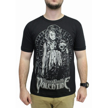 Camiseta Bullet For My Valentine Preto Original