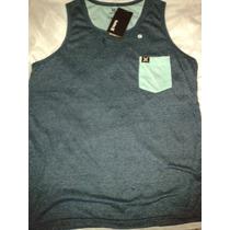 Camiseta Regata Masculina Hurley, Quiksilver Oferta!