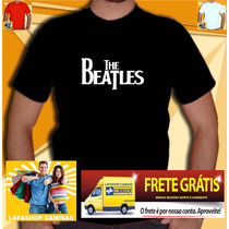 Camisa The Beatles Camiseta Masculina Banda Rock Rolling Ac