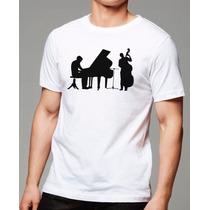 033- Camisetas Instrumentos Piano Violoncelo